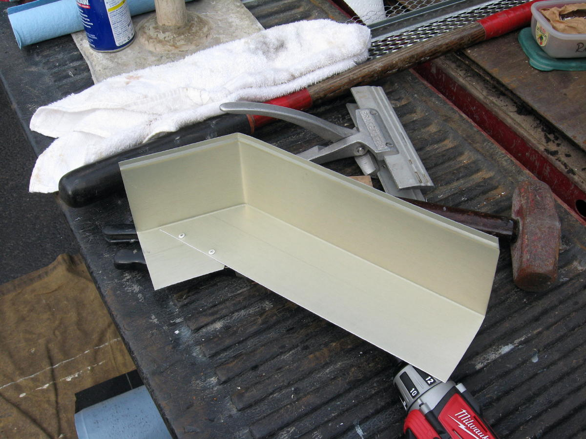 Kickout flashing roofing contractor talk for Roof diverter flashing