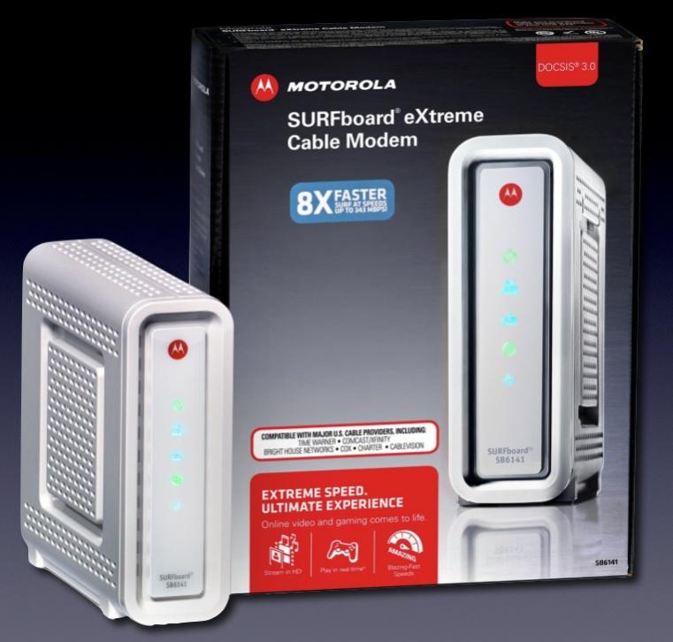 Motorola SB6141, SIMCONET Webstore