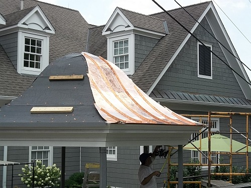 Copper Pavilion Roof Roofing Picture Post Contractor Talk