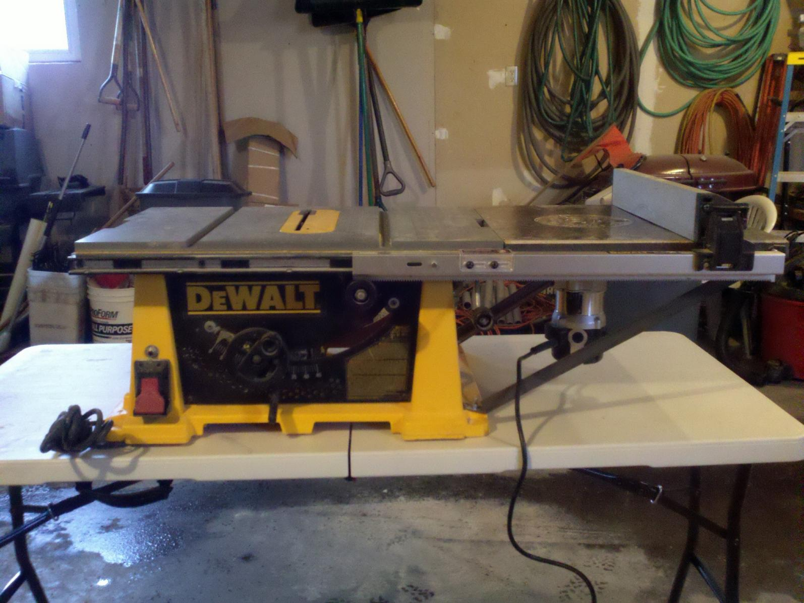 Router Table Extension On Dw744 Tools Amp Equipment