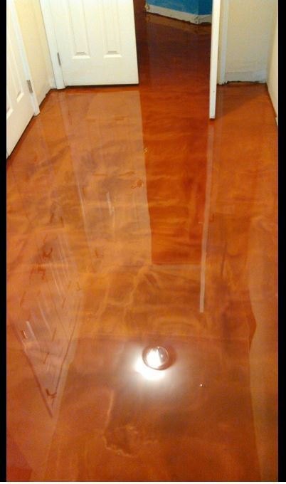 Designer Epoxy With Metallic Epoxyplus Flooring