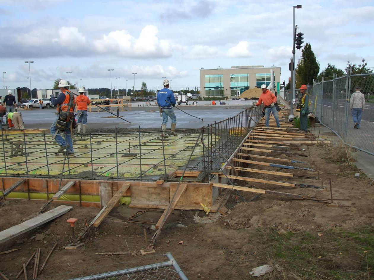 Faster Slab Forming Commercial Construction Contractor