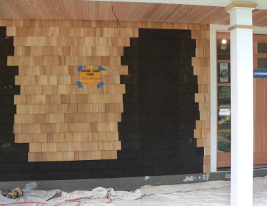 Paint on cedar siding peeling.-cedarshakeb4.jpg