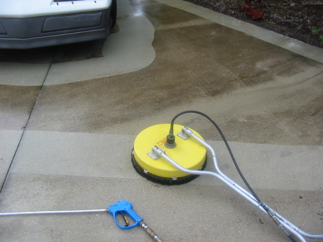 Sw florida pressure washing introductions contractor talk for Cement driveway cleaner