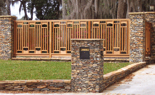 Arched Panel Grouped Baluster Fence Decks Amp Fencing