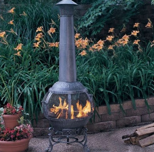 Firepit Or Chiminea On Elevated Deck. Methods? - Firepit Or Chiminea On Elevated Deck. Methods? - Decks & Fencing