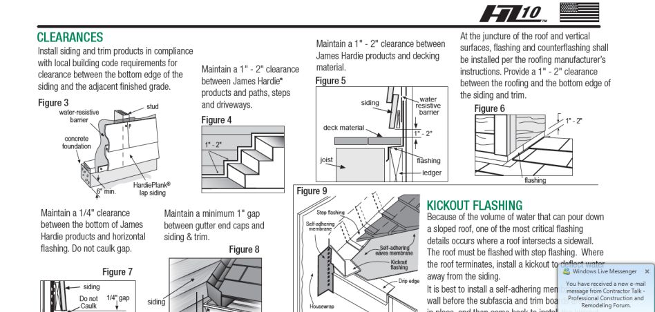Perforated Hardie Soffit Framing Contractor Talk