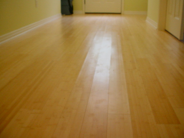 Solid Plank Bamboo Flooring Over Cement Slab Flooring