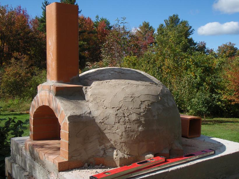 Pizza Oven dome construction-closed-dome-flue-10-.jpg