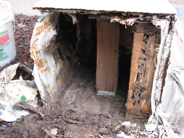 Need Some Ideas On Rebuilding A Wood Frame Stucco Column Base General Discu