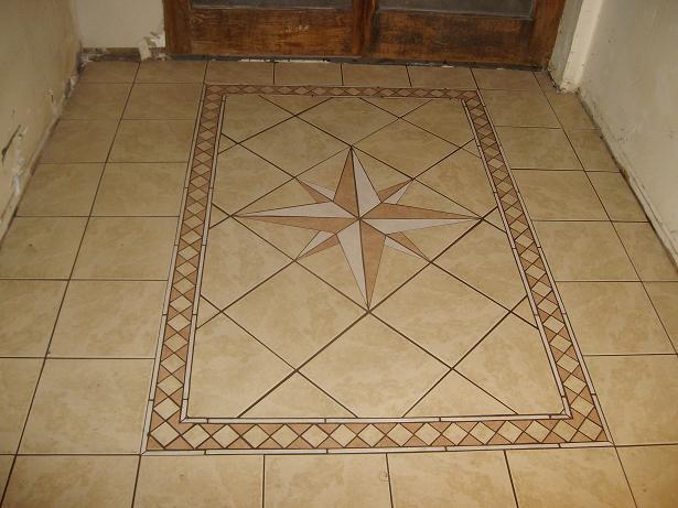 Custom Compass Rose Mat Tiling Contractor Talk