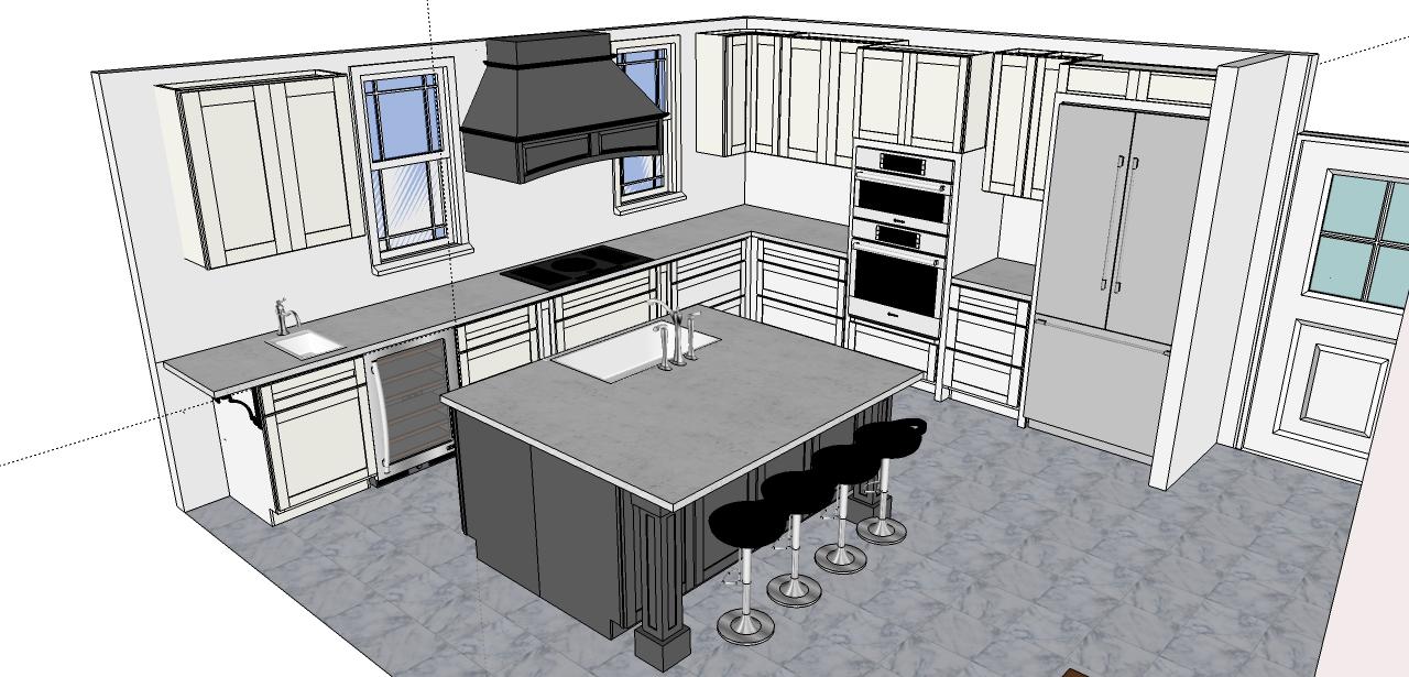 Kitchen Design Software Architecture Design