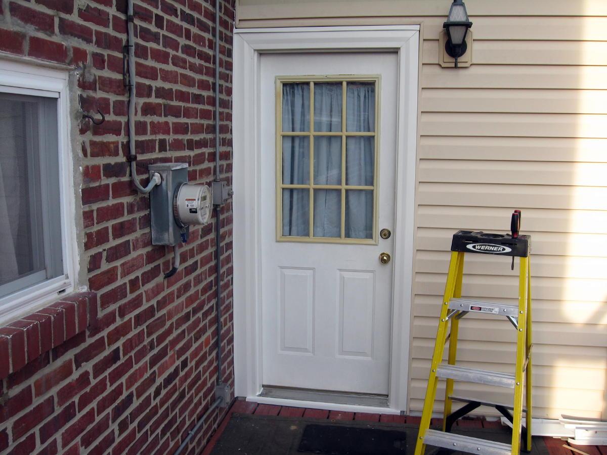 Storm Door Installation : Storm door install windows siding and doors