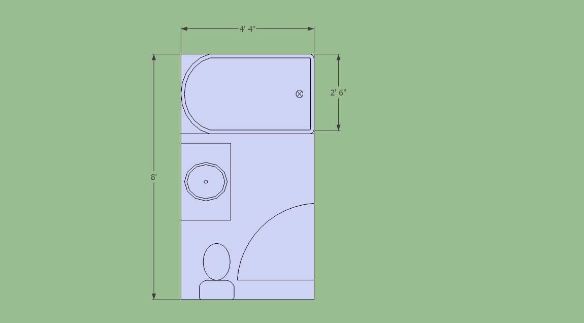 Getting New Tub Into Small Bathroom - Remodeling - Contractor Talk