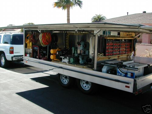Tool trailer tools equipment contractor talk for Rv workshop