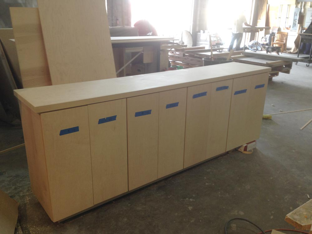 Cabinet grade plywood issues finish carpentry