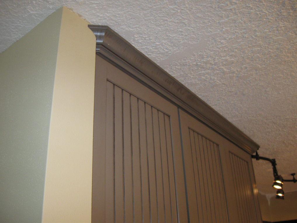 Kitchen Cabinet Crown Return Issue Finish Carpentry