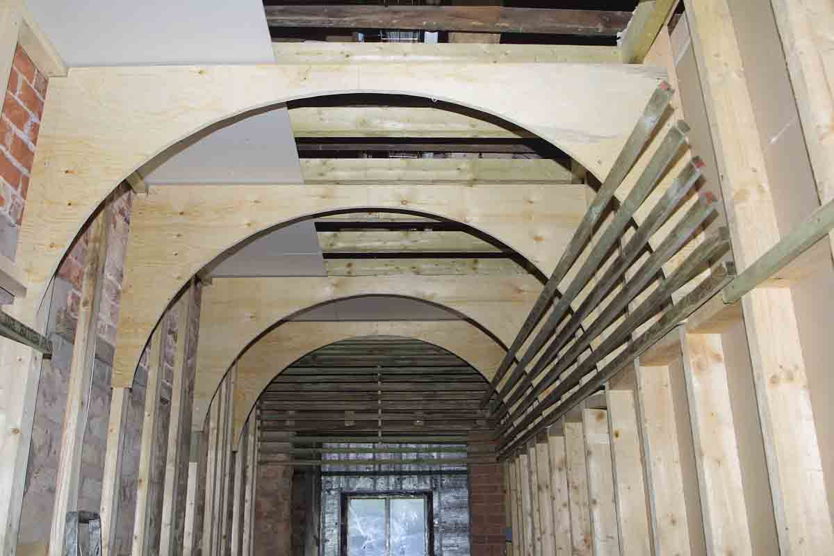 Barrel Vaulted Ceiling Framing Contractor Talk