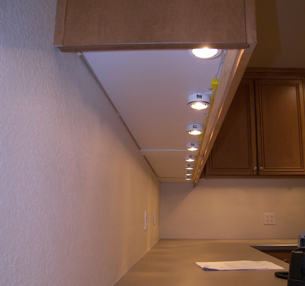 Concealing Undercounter Low Voltage Wires Electrical Contractor