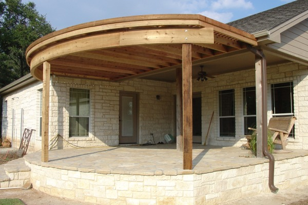 Curved wood beams framing contractor talk