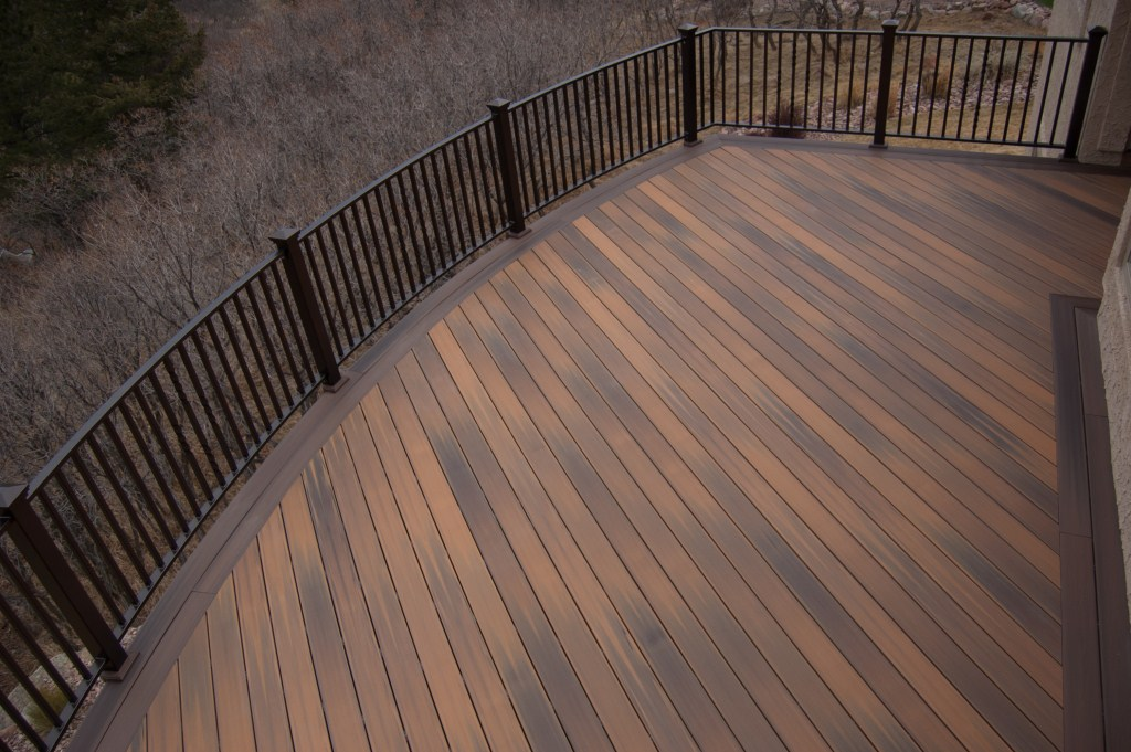 bending azek decking decks fencing contractor talk