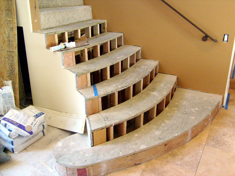 Hickory Stair Treads Flooring Contractor Talk