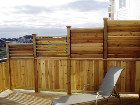 Louver hardware system for decks