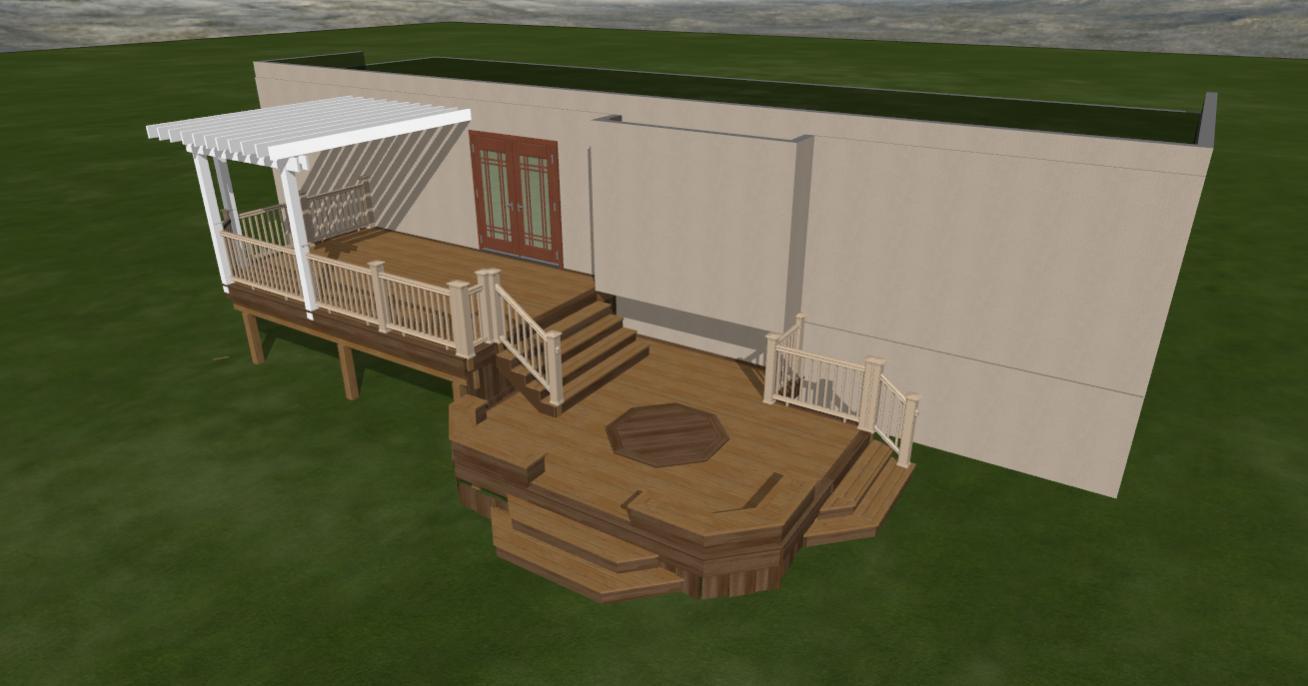 Patio design software free patio design software for Online deck design tool