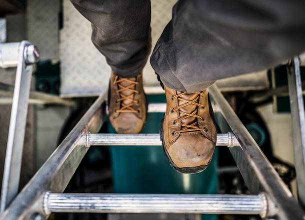 Danner® Stronghold Work Boots Steal the Show