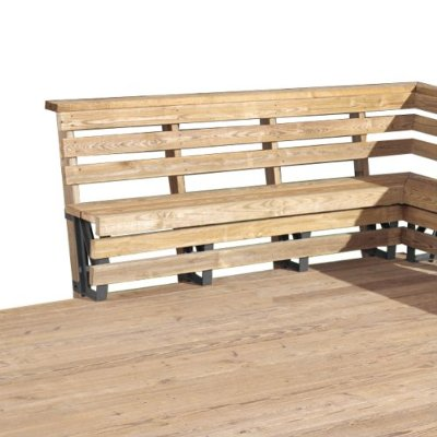 Deck Bench Seat Brackets