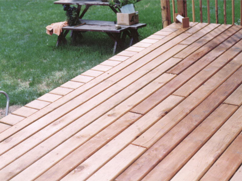 Staggered Decking Decks Amp Fencing Contractor Talk
