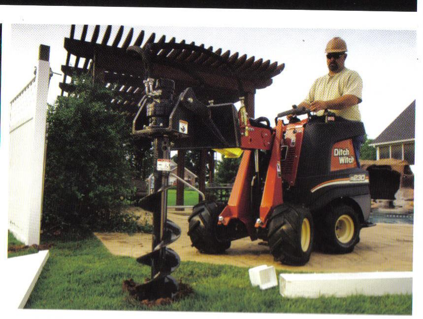 machine to dig holes