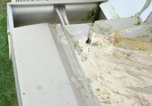 Metal Roof   Rain Diverter