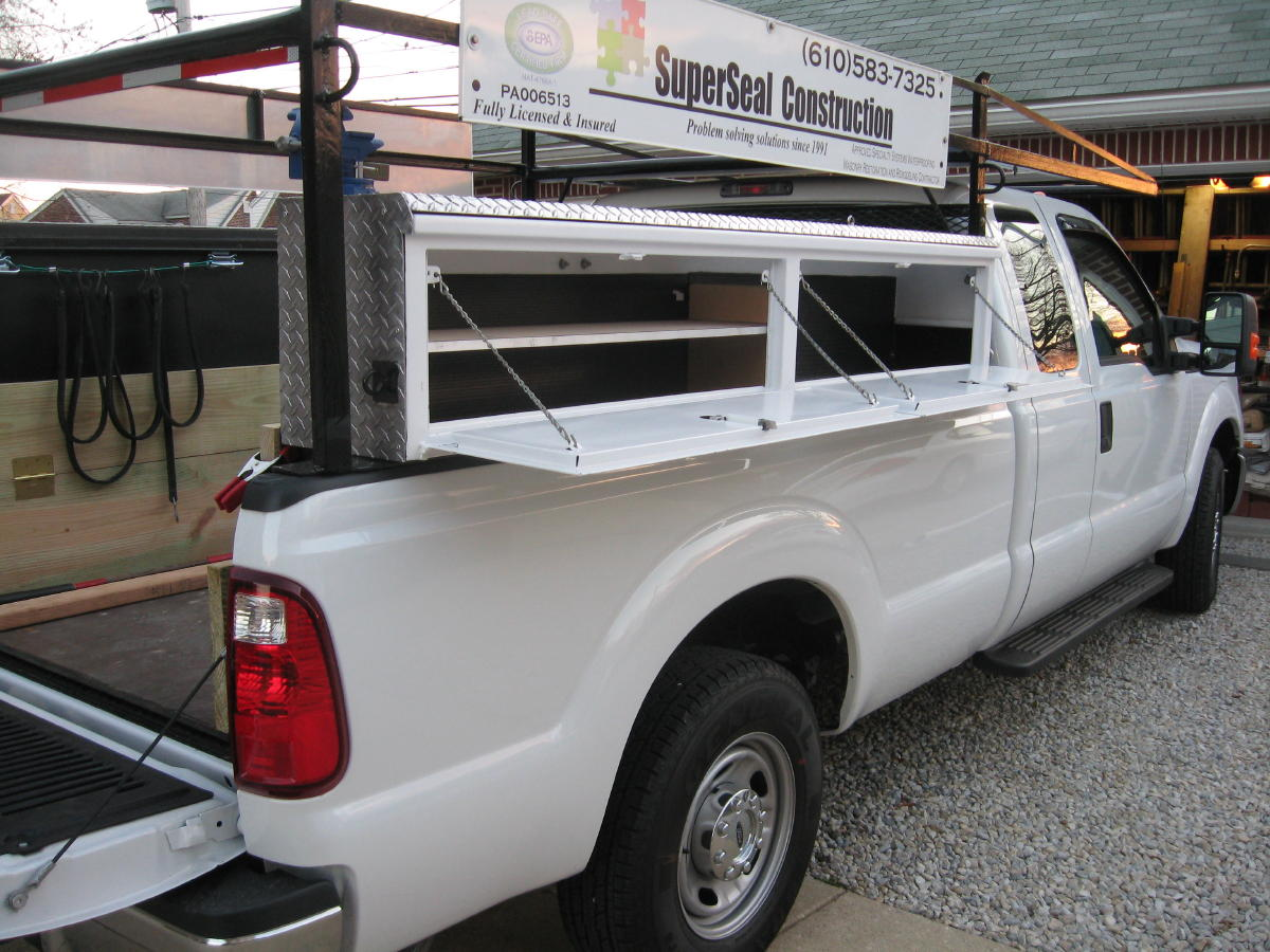 Best Truck Rack For F250 350 Vehicles Contractor Talk