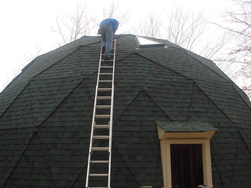 Re Roofing A Geodesic Dome Roofing Contractor Talk