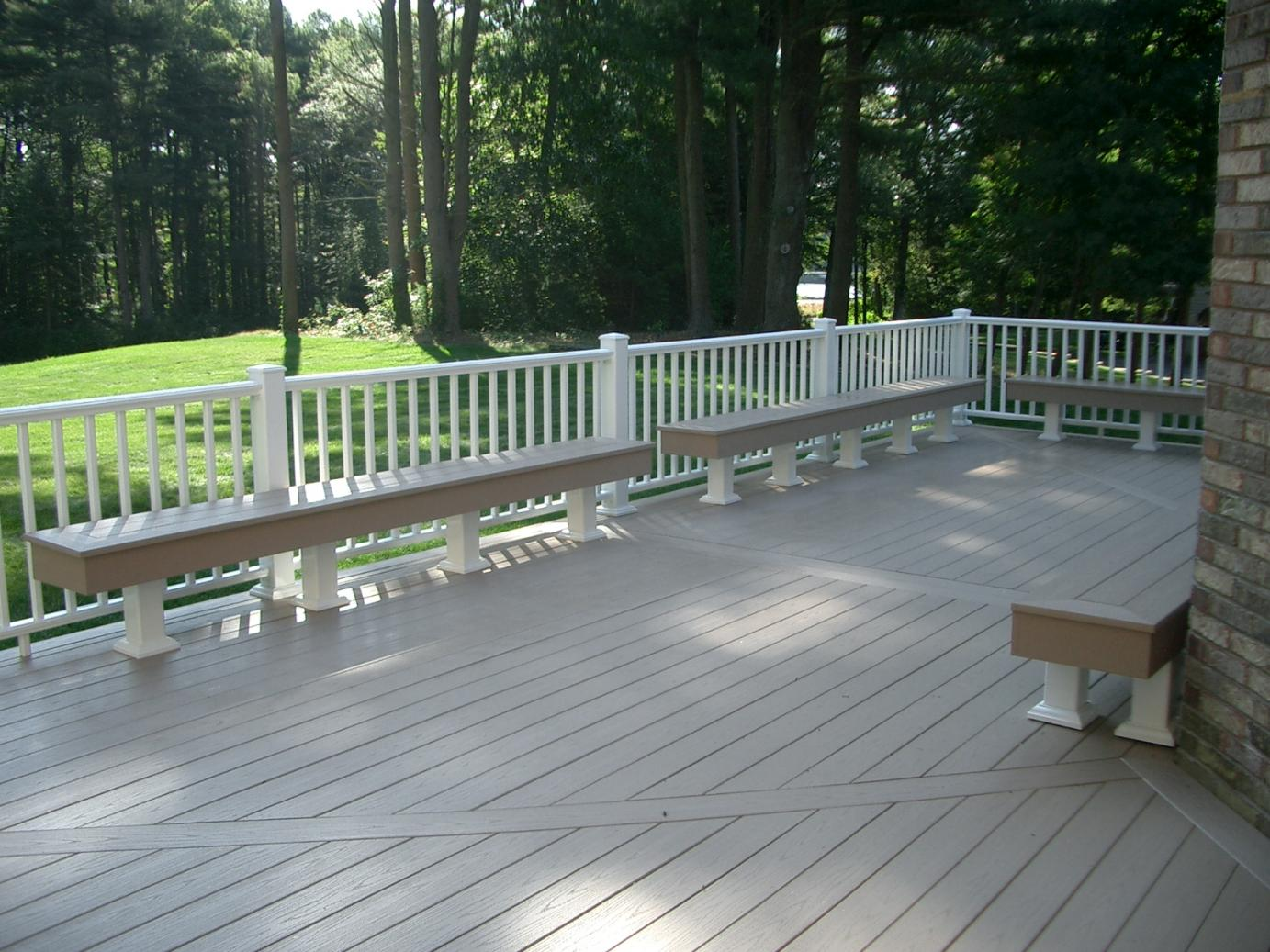 Azek deck and railings decks fencing contractor talk for Balcony decking