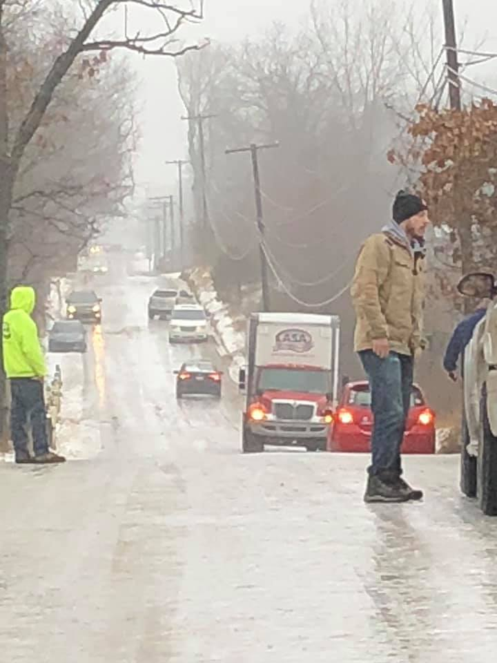 Icy Roads, Schools Closed - Michigan-drahner-rd-icy.jpg
