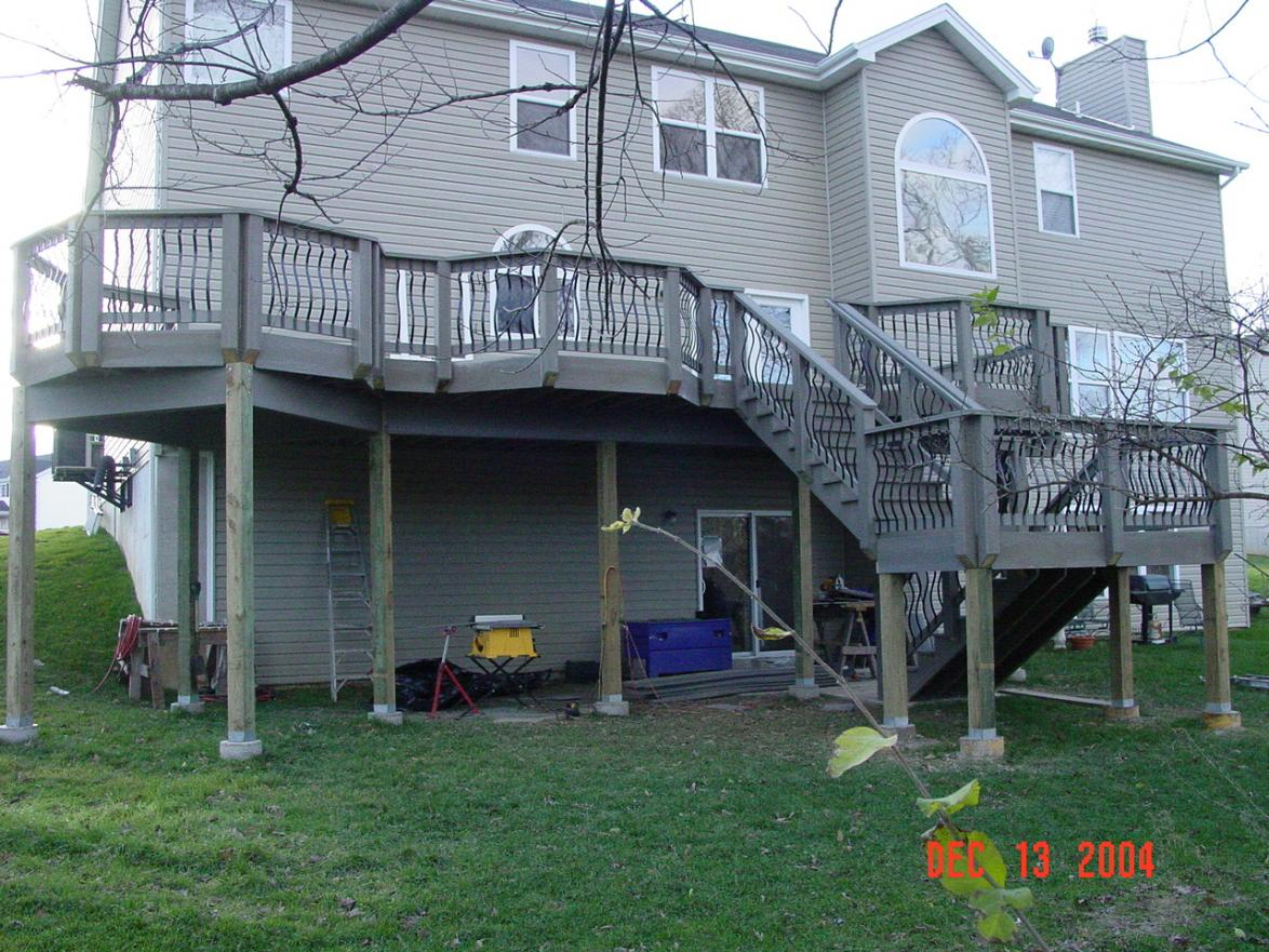 Check Out This Big Deck Decks Amp Fencing Contractor Talk