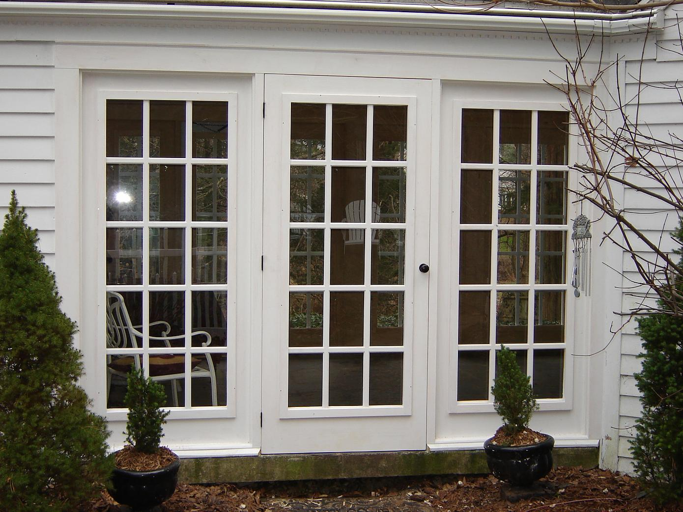 Recessed Storm Door Installation Question Finish Carpentry