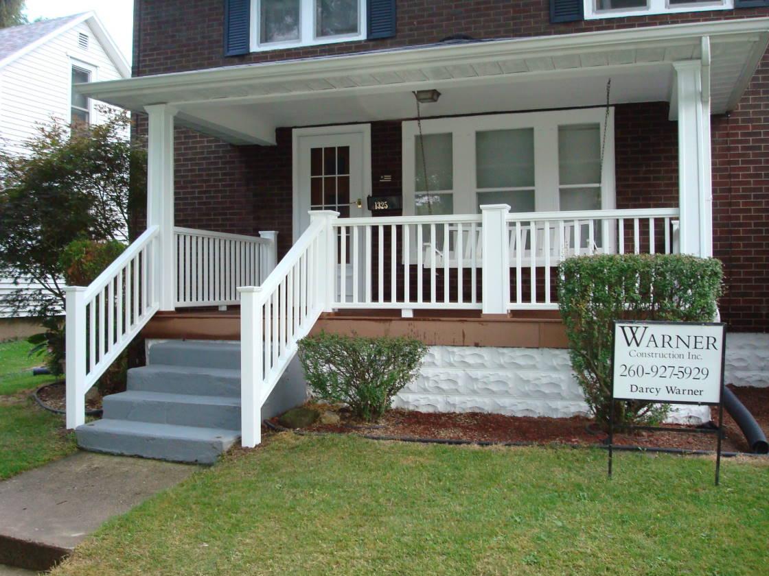 Front Porch Rebuild Decks Fencing Contractor Talk