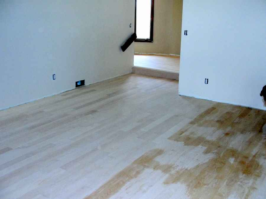 Site Sanded Maple Floor From Last Summer Flooring Picture Post