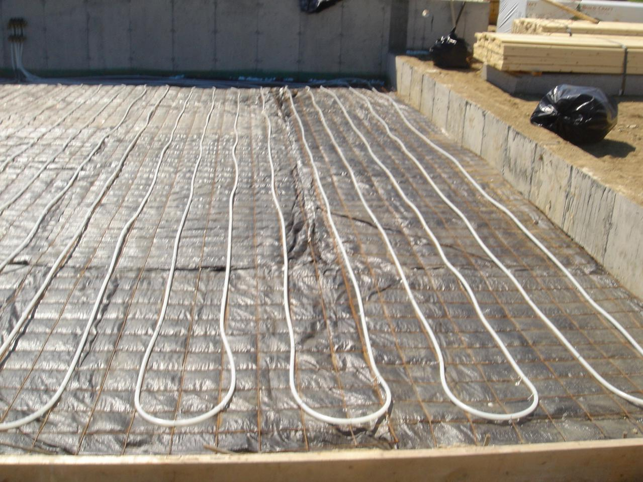 basement slab with radiant heat framing contractor talk
