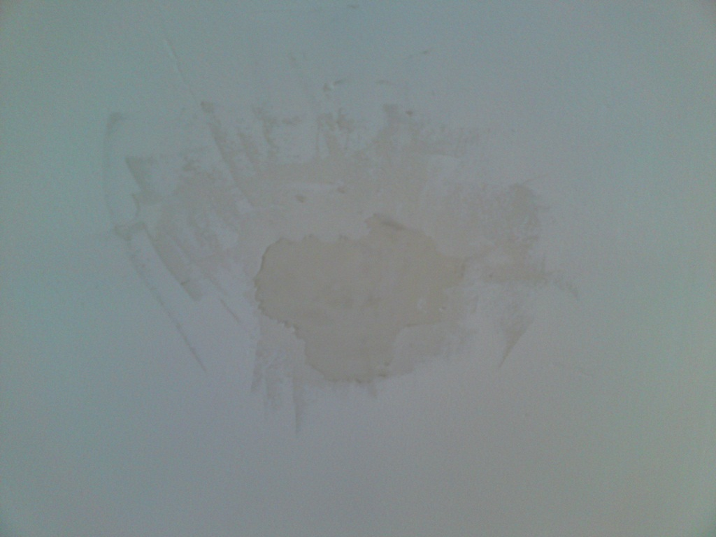 Underlying Layer Of Paint Bubbling