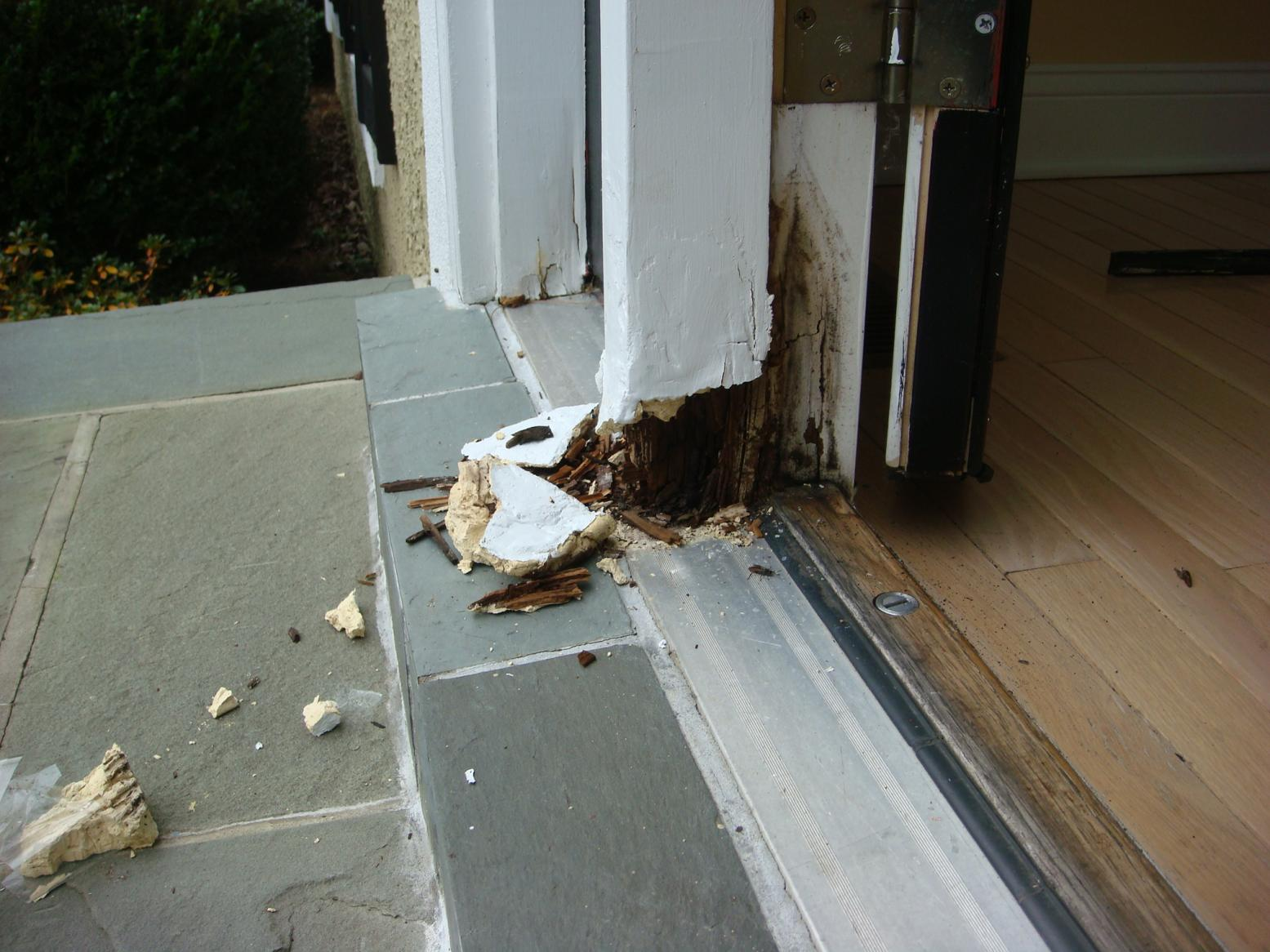 Repairing Rotted Door Frames Finish Carpentry