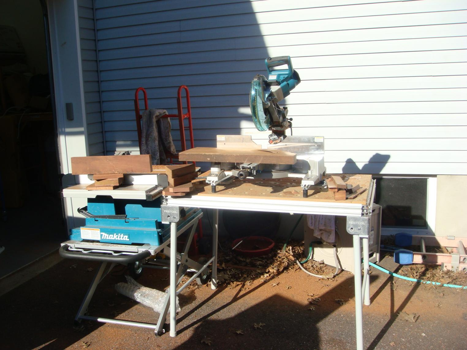 Makita Table Saw 2705 Table Design Ideas