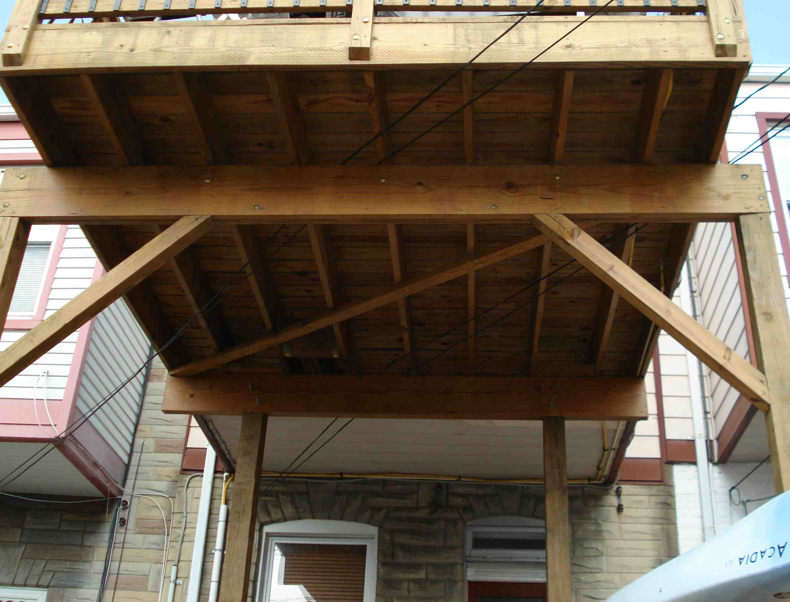 roofdeck repair advice decks fencing contractor talk