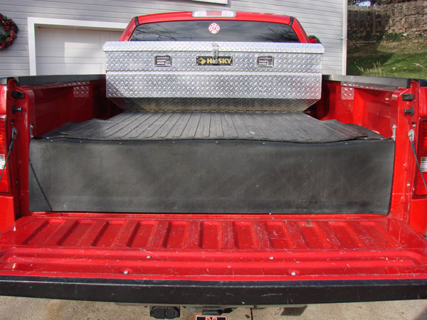 Homemade truck box vehicles contractor talk - Diy truck bed storage ...