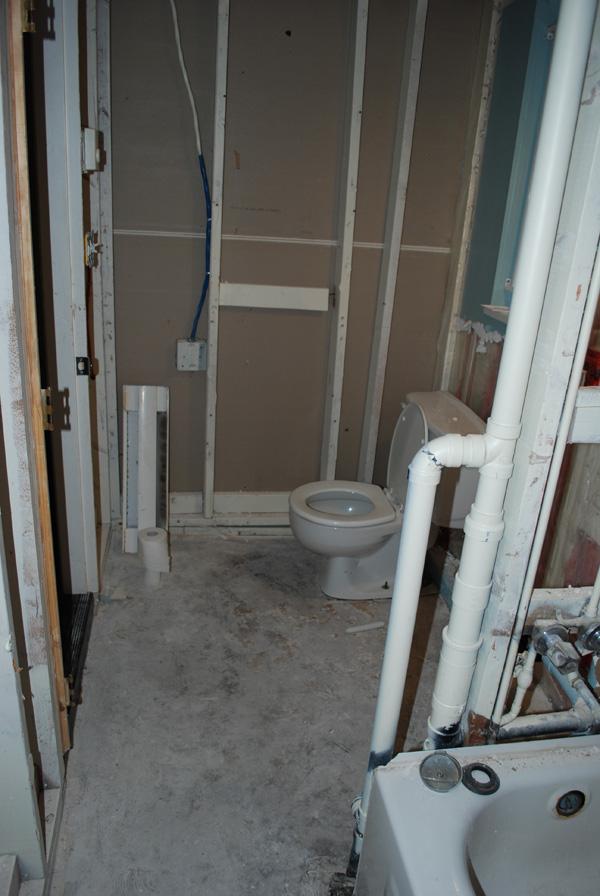 INSTALL BATHROOM SUBFLOOR BATHROOM FLOORS