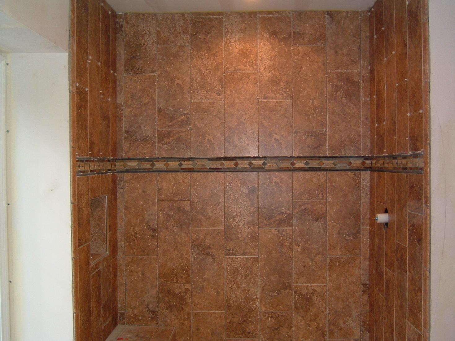 How To Support 2nd Row Of Tiles On Shower Walls Over Redguard Tiling Contractor Talk