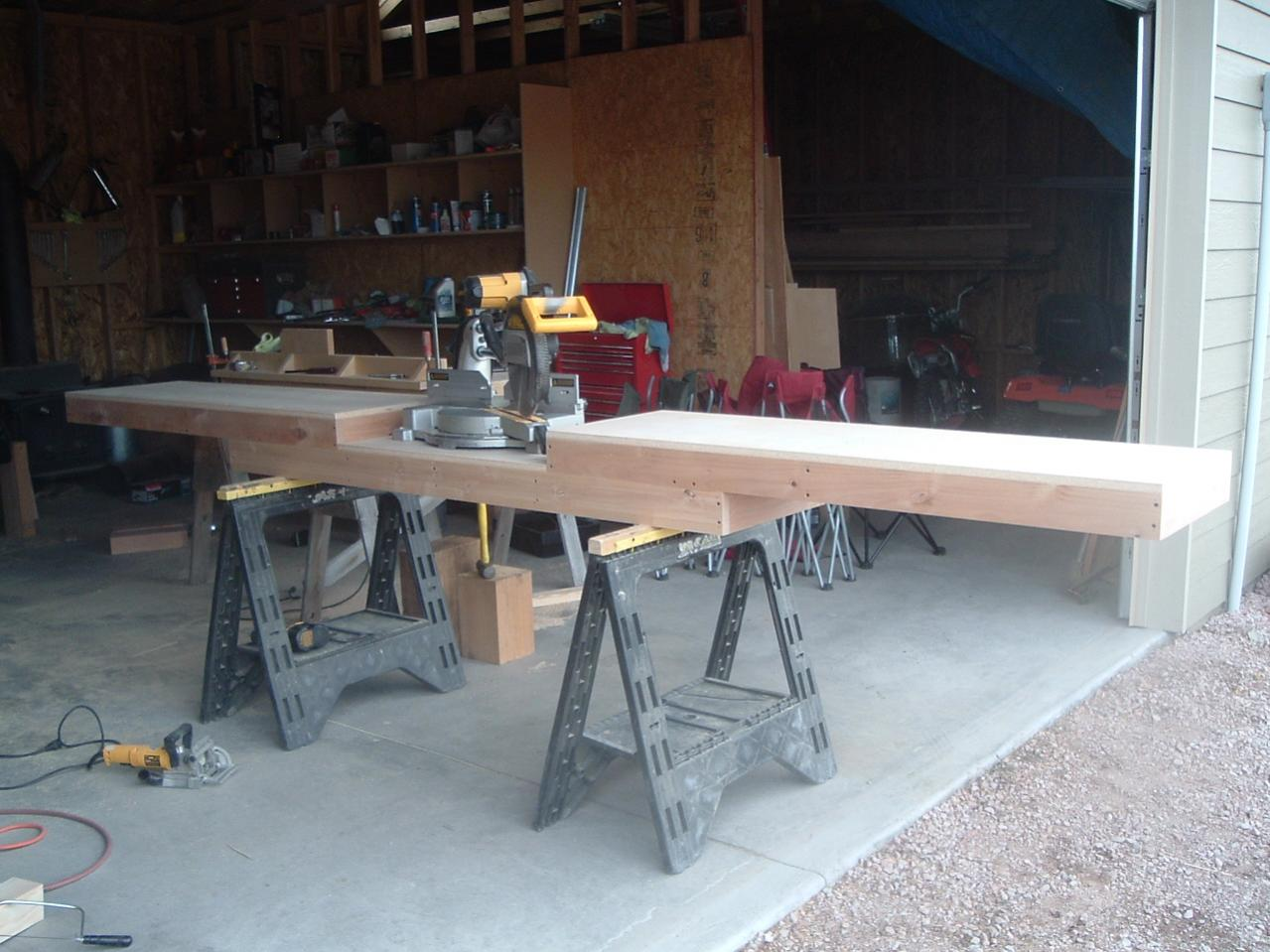 Free Tool Cabinet Plans Homemade Miter Saw Table Flow